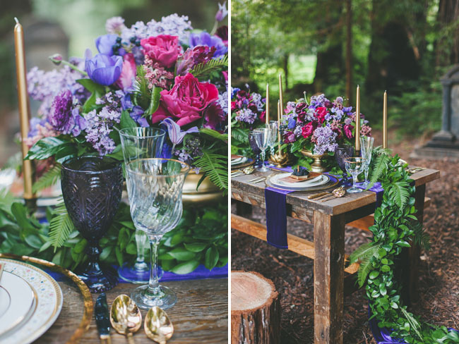 fairytale inspired tablescape