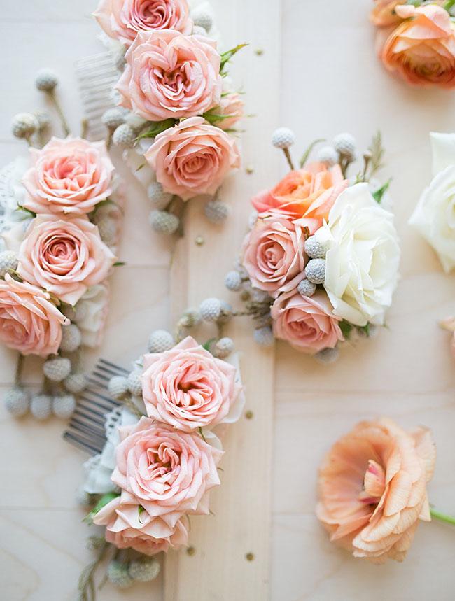Как сделать цветок на заколку