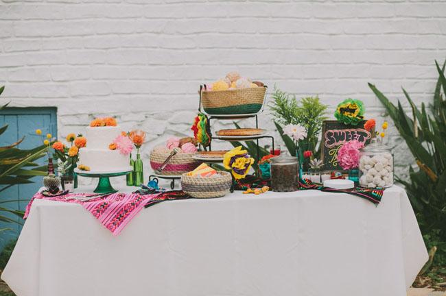 fiesta cake bar