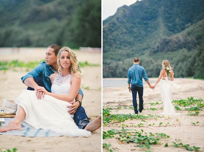 hawaii elopement inspiration
