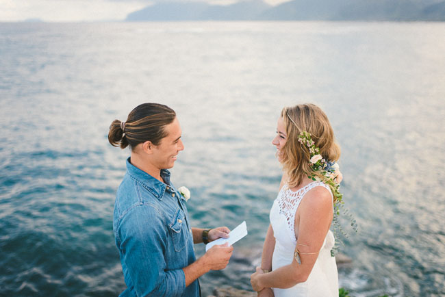 hawaii elopement inspiration