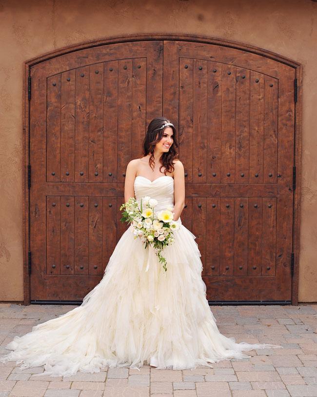 italian inspired bride
