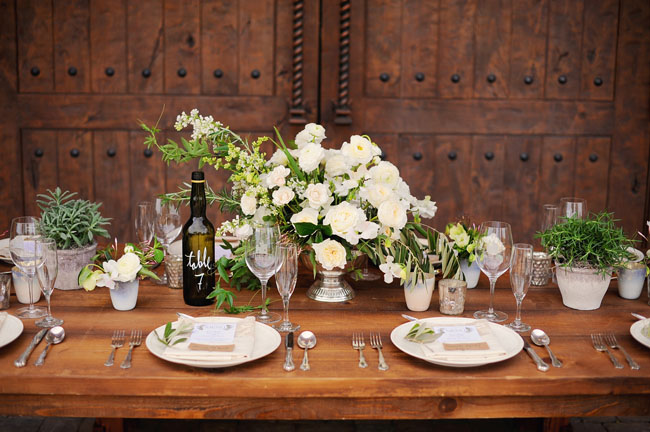 italian tablescape