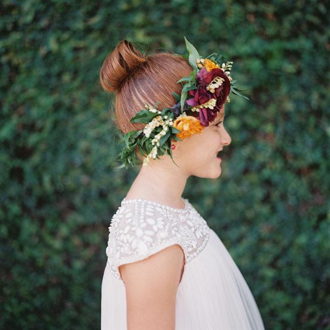 flower girl flower crown1