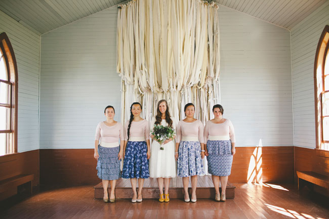 skirt bridesmaids