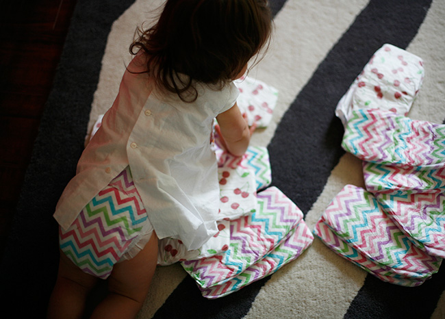 Honest Diapers Chevron