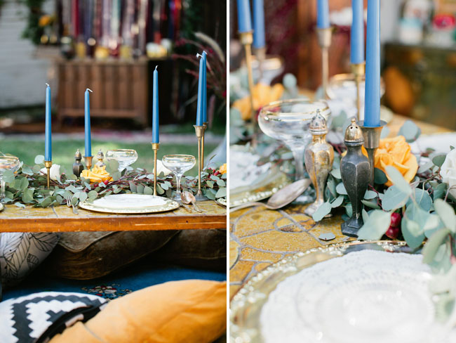bohemian backyard bridal shower inspiration
