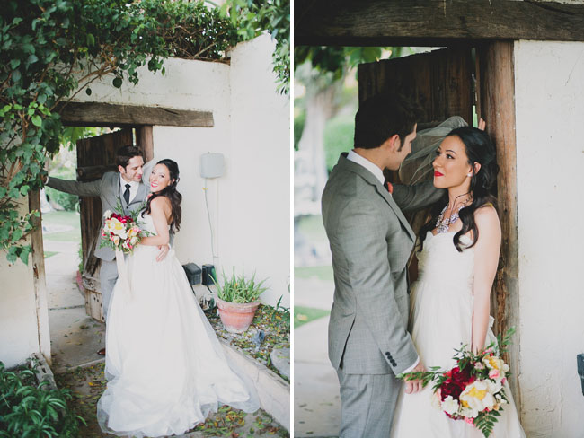 cree estate bride and groom