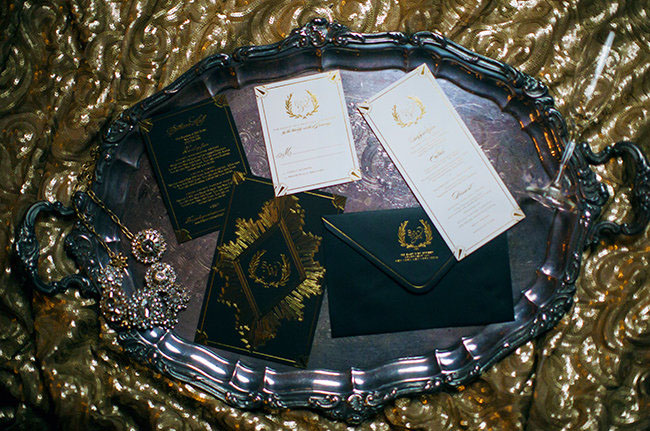 gatsby inspired invitation