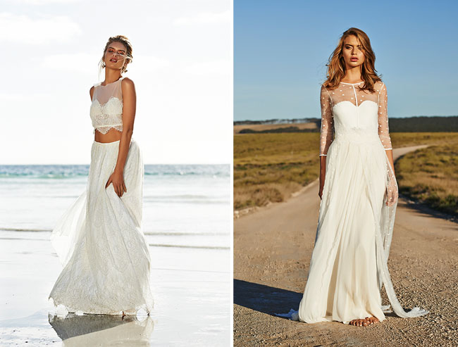 Designer Wedding Dress Gold Coast: Timeless Bohemian Wedding Dresses From Grace Loves Lace