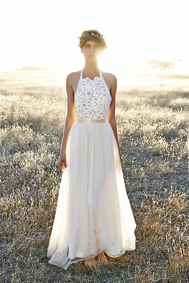 Bohemian Lace Wedding Dress Australia - Wedding Dresses Asian