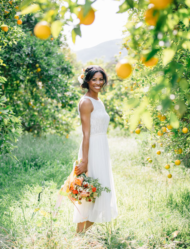 orange grove bride