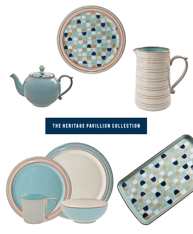 Denby Heritage Pavillion  sc 1 st  Green Wedding Shoes & Beautiful Timeless Tableware from Denby