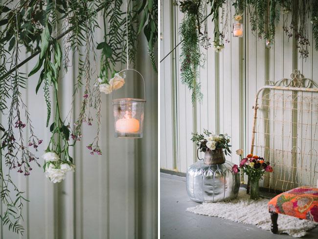 hanging candles
