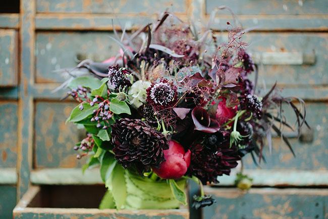 Maleficent plum bouquet