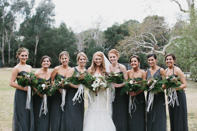 Bridesmaids Malibu Forest