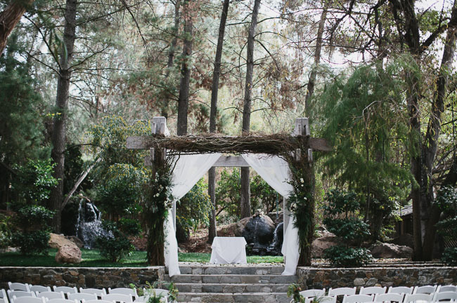 malibu forest ceremony