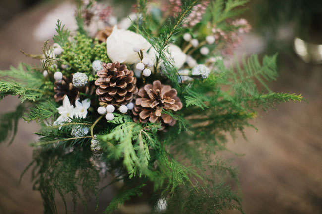 winter forest florals