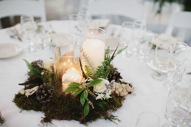 Romantic malibu forest wedding kate ryan