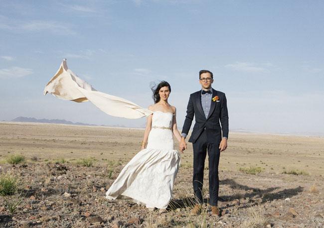 Captivating Marfa Wedding