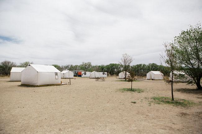 marfa tent wedding