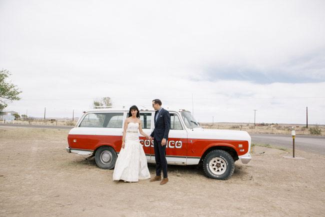 marfa bride and groom