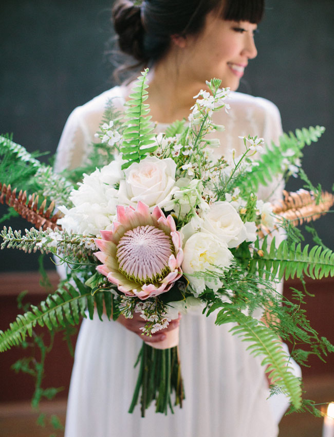 protea botanical bouquet