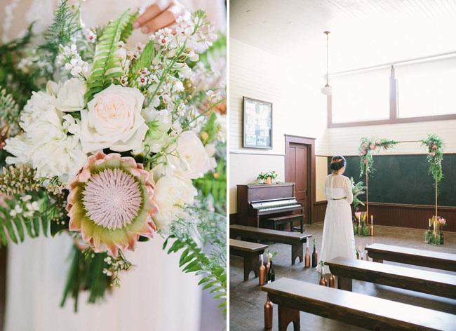 protea botanical bouquet