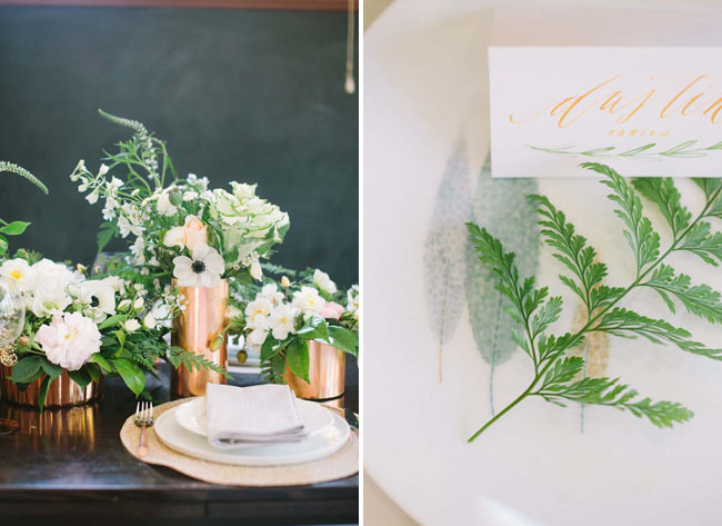 fern place card