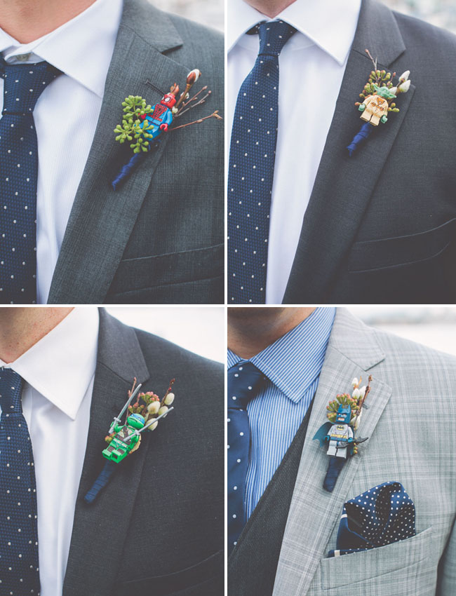 action figure lego boutonnieres
