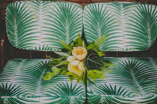 retro tropical inspiration
