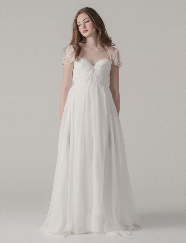 Wedding Gown Trunk Shows 81 Inspirational sleeved dress