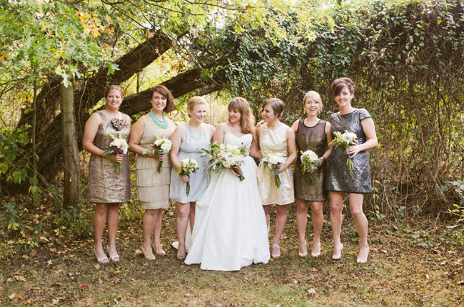 bridesmaids with love