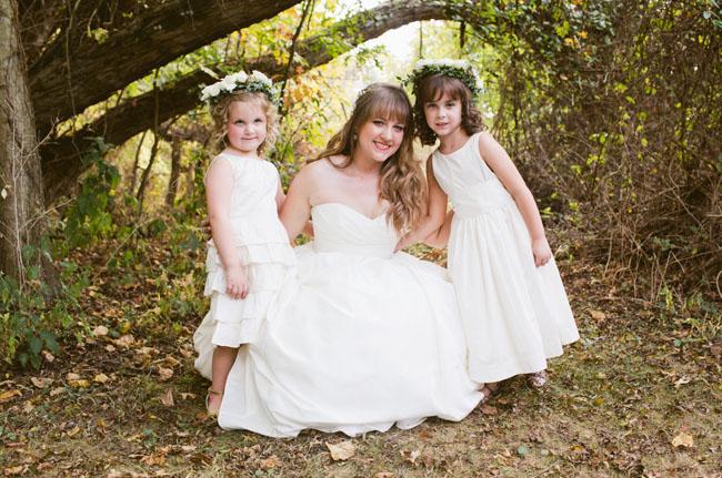 flower girls with love