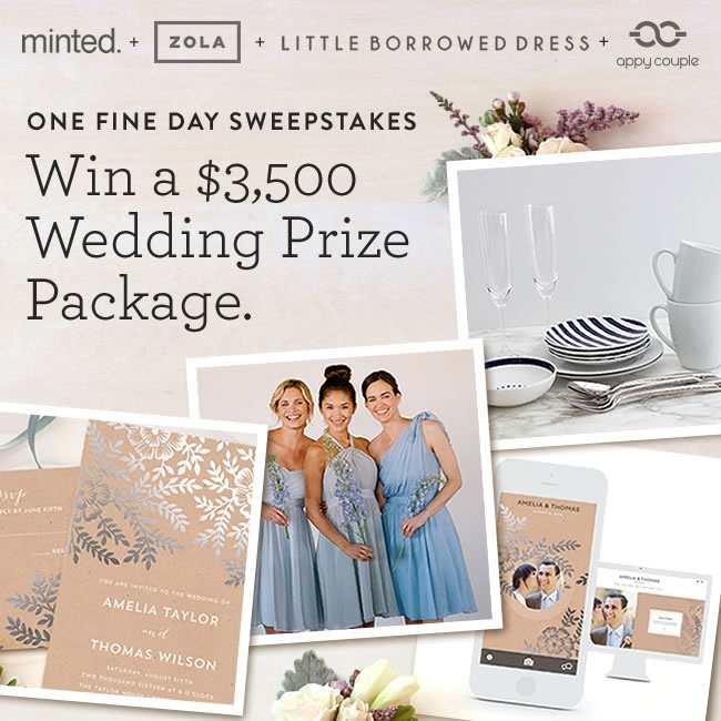 One FIne Day Wedding Giveaway worth $3500!
