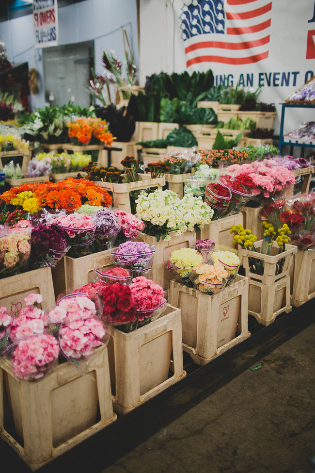 wedding flower shop how to shop the la flower market 9519