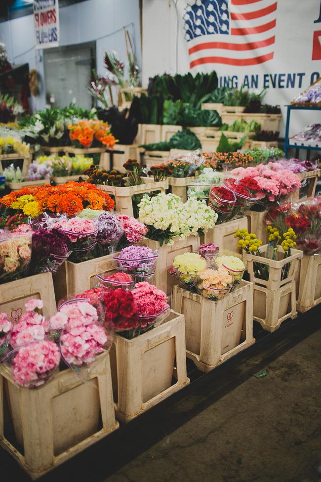 How To Shop The LA Flower Market
