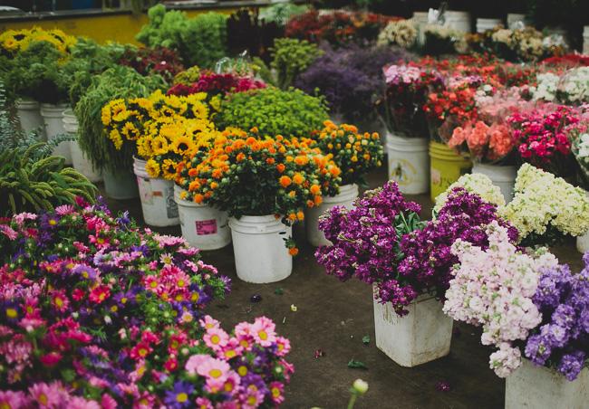 LA flower mart