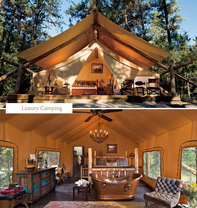 Glamping at The Resort at Paws Up