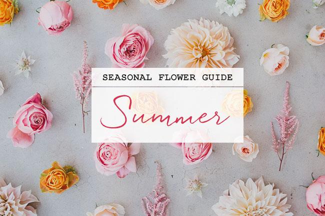 Seasonal flower guide summer green wedding shoes weddings seasonal flower guide summer junglespirit Choice Image