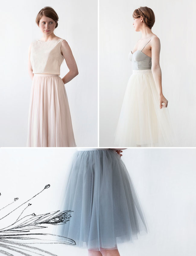 Alexandra Grecco Tulle Skirt
