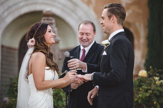 bachelor mansion ceremony