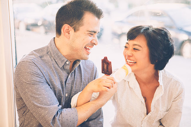 popsicle engagement