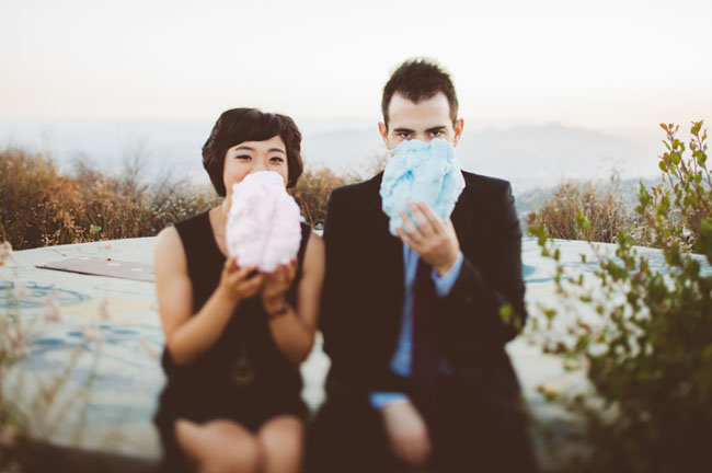 cotton candy engagement