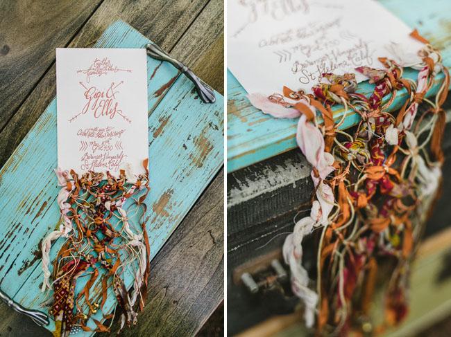 bohemian crochet bouquet