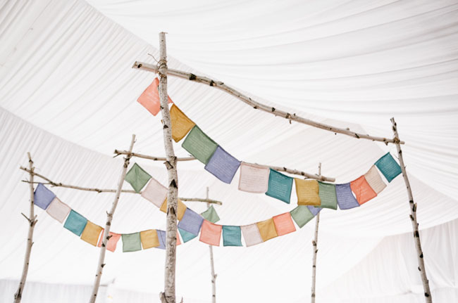 wedding flag bunting