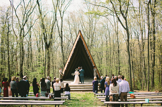 English Inspired Pennsylvania Camp Wedding Jessica Andrew