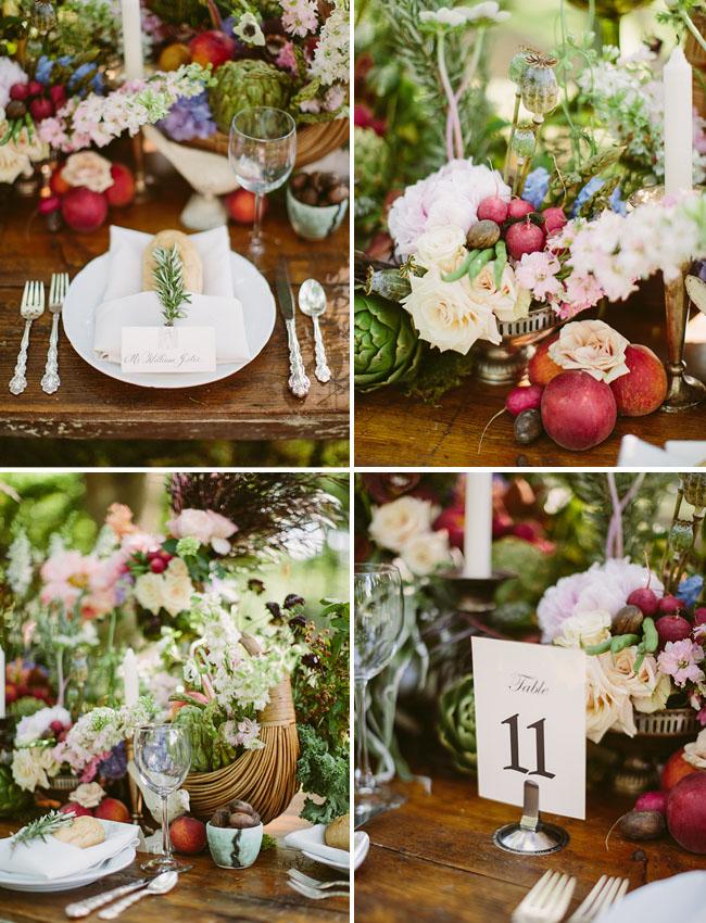 pomegranate table decor