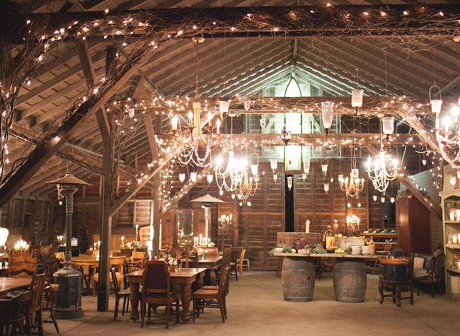 Handmade Vintage Barn Wedding: Paige + Geoff