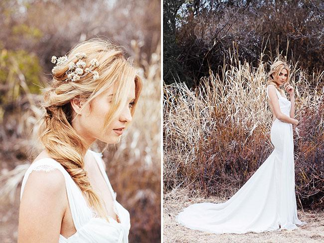 Katie May Wedding Dress Santorini